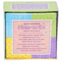 Baby Shower Napkins with Trivia Game