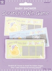 Baby Shower Scratch & Win Game