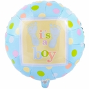 Baby Steps Boy Foil Balloon
