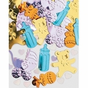 Baby Things Embossed Confetti