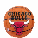 Chicago Bulls Basketball Mylar Balloon