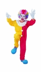 Child Clown Boy's Costume