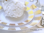 Empress Gold Heavyweight Plastic Plates