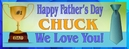 Father's Day Customized Banner