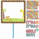 Fisher Price Baby Shower Customized Lawn Sign