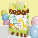 Fisher Price Baby Shower Giant Rainforest Bag