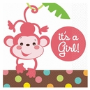 Fisher Price Baby Shower It's a Girl Beverage Napkins