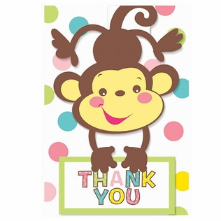Fisher Price Baby Shower Thank-You Notes