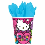 Hello Kitty Rainbow� 9 oz. Cups