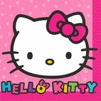 Hello Kitty Rainbow� Beverage Napkins