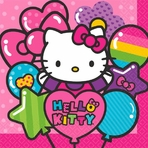 Hello Kitty Rainbow� Luncheon Napkins