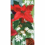 Holiday Flowers Guest Towel (16 per package)