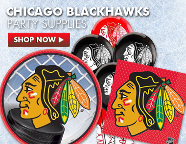 chicago blackhawks party supplies