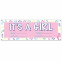 It's a Girl 5' Banner