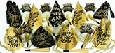 New Years Eve Gold Twilight Party Kit 50
