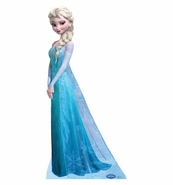 Snow Queen Elsa from Disney's Frozen life size stanup