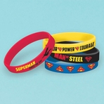 Superman� Rubber Bracelet Favors