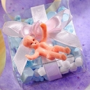 Tiny Baby Shower Favor Charms 12ct