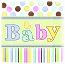 Tiny Bundle Baby Shower Party Supplies
