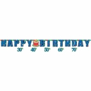 Yr/Cl Happy Birthday Attachable Ag Letter Banner