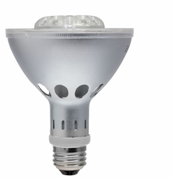 10 Watt - 50 Watt Replacement - Dimmable LED Light Bulb - PAR30 Long Neck - Narrow Flood - Litetronics