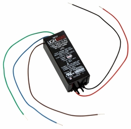 10 Watt - 12 Volt DC - Hardwire - Electronic Constant Voltage LED Driver - Lightech