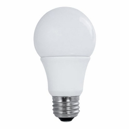 11 Watt - 60 Watt Replacement - Dimmable LED Light Bulb - A19 - Bulbrite True Shape