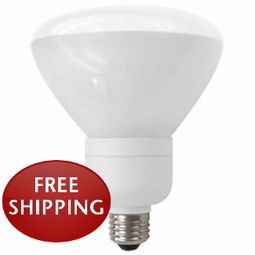 16-Watt Compact Fluorescent (CFL) R40 Flood Medium Screw-In Base
