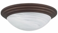 180-Watt Incandescent Round Ceiling Mount Light Fixture