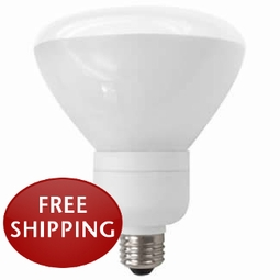 19 Watt - 85 Watt Replacement - Dimmable CFL - R40 - Flood - TCP