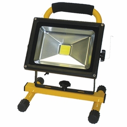 20-Watt LED Rechargeable Li-Ion Battery Operated Work Light