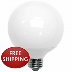 23-Watt Compact Fluorescent (CFL) G30 Globe Medium Screw-In Base