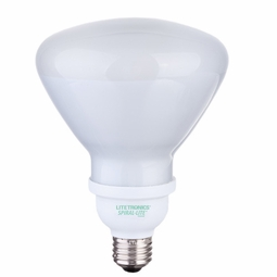 23 Watt - 120 Watt Replacement - CFL - R40 - Flood - Litetronics