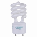 23 Watt - 100 Watt Replacement - CFL - Spiral - GU24 Base - Litetronics
