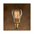 25 Watt - Antique Light Bulb - A15 Victorian - Candelabra Base - Bulbrite Mini Nostalgic