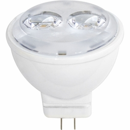 3.5 Watt - 12 Volt - 20 Watt Replacement - LED Light Bulb - MR11 - GU4 Base - Flood - Litetronics