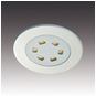 3-Watt LED Low Profile Miniature Recessed Spotlight