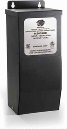 300-Watt 12-Volt Outdoor Magnetic Low Voltage Transformer with Boost Tap
