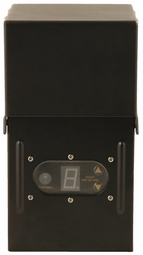 300 Watt - 12 Volt - Plug-In - Outdoor Magnetic Transformer - Photocell and Timer