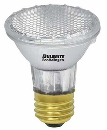 39 Watt - 50 Watt Replacement - Energy Efficient Halogen Light Bulb - PAR20 - Bulbrite