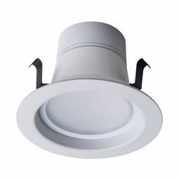 4 Inch - 8 Watt - 50 Watt Replacement - Dimmable LED Downlight Retrofit Module - E26 Medium and GU24 Base - Damp Location - Bulbrite