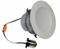 4 Inch - 7.6 Watt - 50 Watt Replacement - Dimmable LED Downlight Retrofit Module - E26 Medium Base - Damp Location - American Lighting