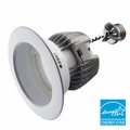 4-Inch LED Dimmable Retrofit Module for Recessed Lights, 575 Lumens, 9.5W, 2700K, Damp Location