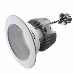 4 Inch - 9.5 Watt - 65 Watt Replacement - Dimmable LED Downlight Retrofit Module - Reflector Trim - E26 Medium Base - Damp Location