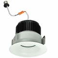 4 Inch - 12.55 Watt - 65 Watt Replacement - Dimmable LED Downlight Retrofit Module - Baffle Trim - E26 Medium Base - Wet Location - Nora Lighting