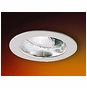 4-Inch Line Voltage Recessed Lighting Trim with Adjustable Chrome Reflector