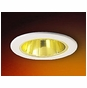 4-Inch Line Voltage Recessed Lighting Trim with Gold Reflector