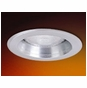 4-Inch Line Voltage Recessed Lighting Trim with Natural Metal Reflector