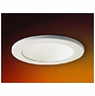 4-Inch Line Voltage Recessed Lighting Trim with White Reflector