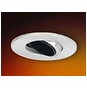4-Inch Low Voltage Recessed Lighting Trim Surface Adjustable with Baffle